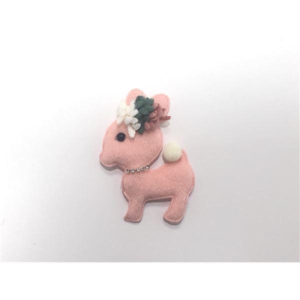 Cervatillo acolchado rosa 7cm - CIERVOROSA