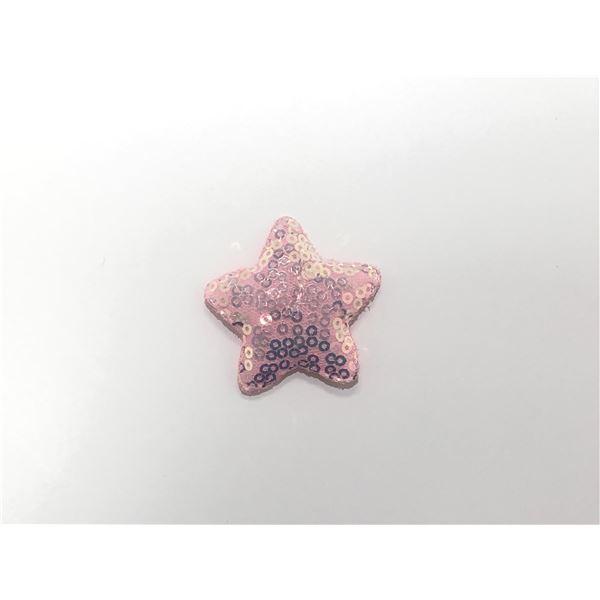 Estrella acolchada rosa 2.5cm - ESTRELLATELAROSA