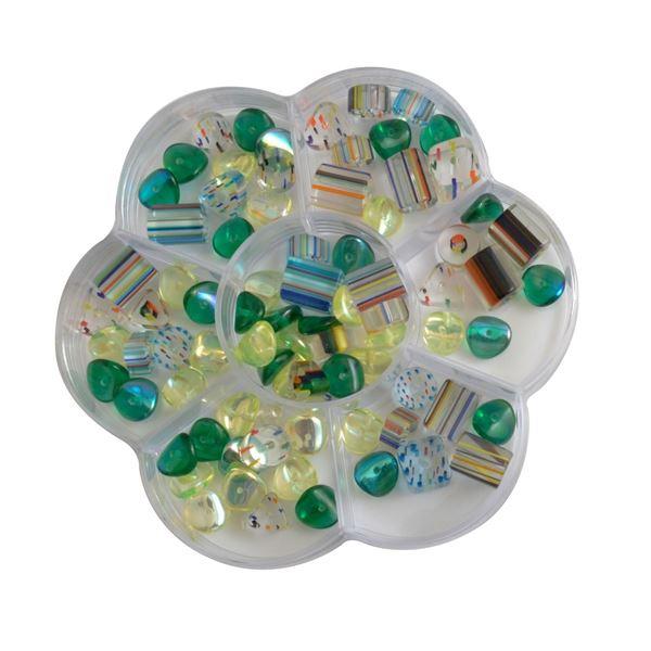 Cuentas color verde (60gr) - 8716052184330