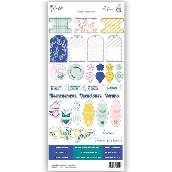 Stickers 6x12 bikini - 0650414856290
