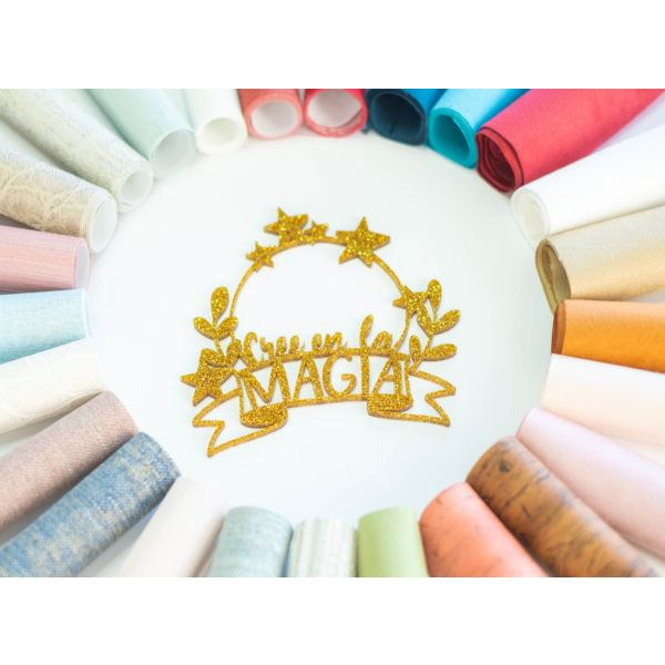Shaker metacrilato oro purpurina magia - JRSHA11