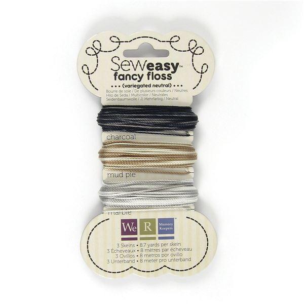 Hilo de seda multicolor-neutrales sew easy - 711757