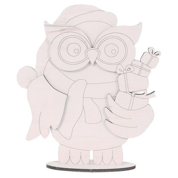 Buho 3d regalos navidad 40cm - 8403210002192
