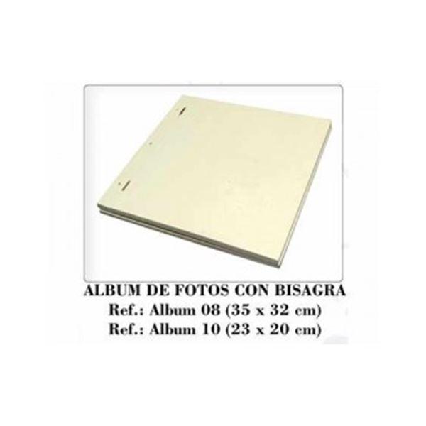 Album de madera con bisagras de 20x20cm - 8433984014534