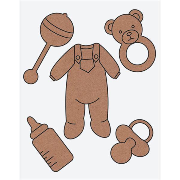 Conjunto accesorios bebé - 8412500005829
