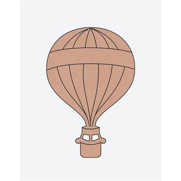 Globo aerostático 15x22.5cm - 8412500011851