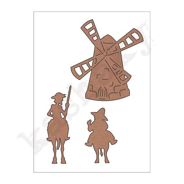 Conjunto don quijote - 8412500011110