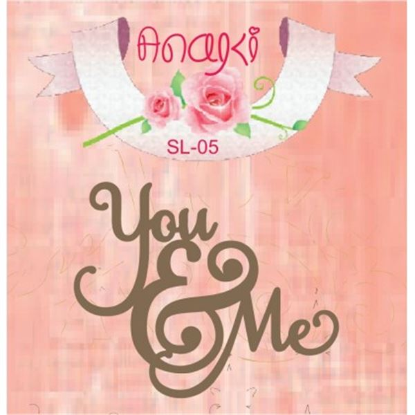 Siluetas you&me 11x9cm - SL-05