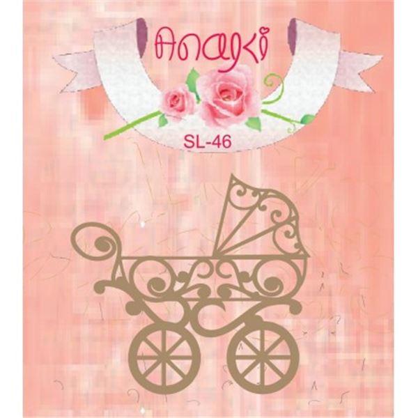 Silueta carrito bebe - SL-46