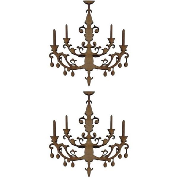 Set 2 siluetas dm lamparas - 0321002008