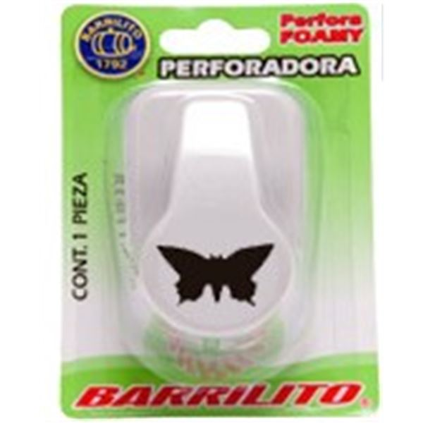 Perforadora foamy mariposa 25x25mm - 7501214965008