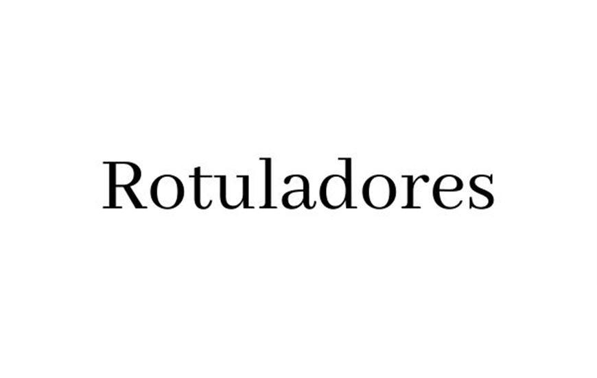 Rotuladores
